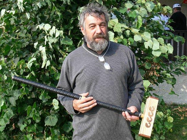 Petr Bárta z Hořic, výrobce kroketových holí.