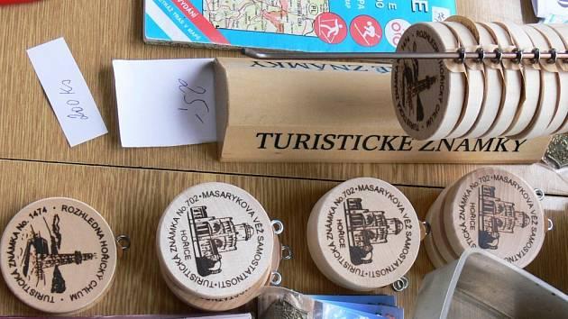 Turistické známky.