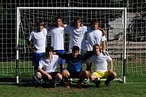 YDAROKUS, vítěz loňského ročníku fotbalového turnaje v Lukavci u Hořic.