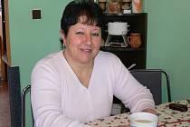Pečovatelka roku 2009 Marcela Pelikánová doma ve Staré Pace.