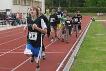 Velké boje se odehrávaly zejména v bězích na 1000 a 600 metrů, a to jak  v kategoriích chlapců, tak i děvčat.
