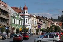 Hořické náměstí Jiřího z Poděbrad.