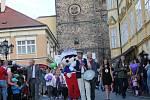 Ze zahájení festivalu Jičín - město pohádky.