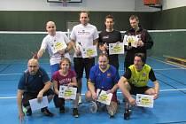 Turnaj v badmintonu v Miletíně.