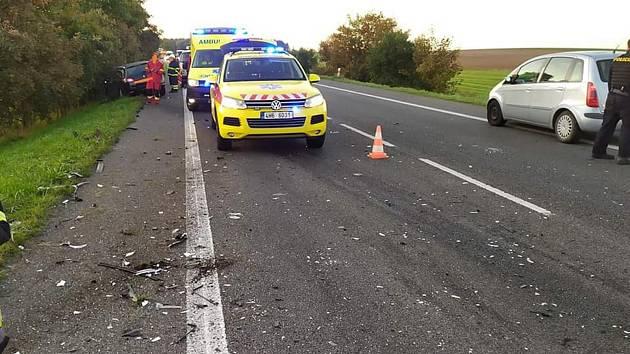 Ve čtvrtek ráno došlo u Milovic k tragické dopravní nehodě