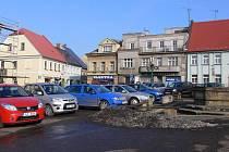 Centrum Sobotky.