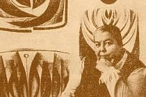 Malířka Libuše Vojtková.