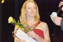 Z vyhlášení nejlepších orientačních běžců - Dana Šafka Brožková.