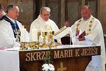 Slavnost k 70 letům kněžství Karla Exnera.