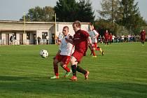 Utkání SK Hošek Robousy – FC VTJ Milíčeves.