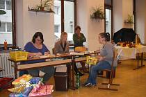 Ze dne otevřených dveří ve spojených školách v Hořicích.