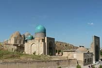 Putování po Uzbekistánu.