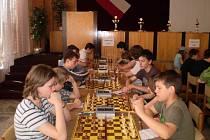 Družstvo hořických šachistů.