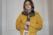 Nositelka titulu Sportovní osobnost roku 2008 v Hořicích Eliška Johnová.