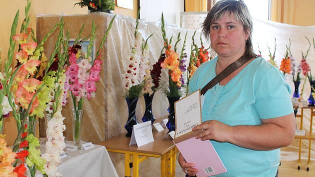 Z výstavy mečíků a dalších květin v Nemyčevsi.