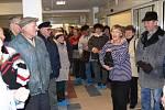 Ze slavnostního otevření nového novopackého domova důchodců.