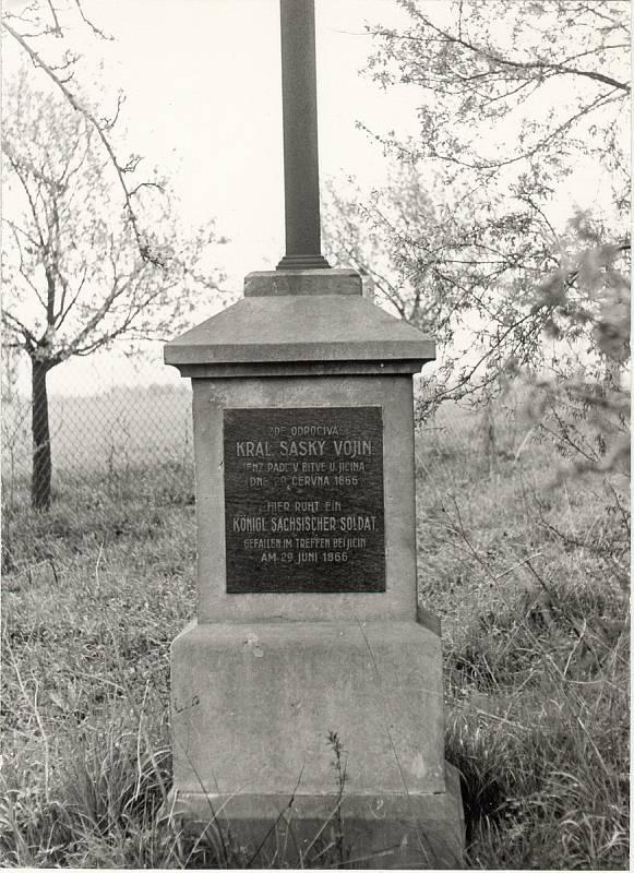 Zaniklý pomník Karla Schwenkeho.