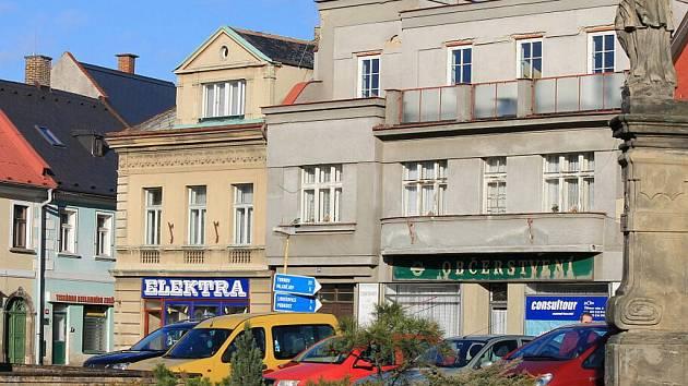 Z centra Sobotky.