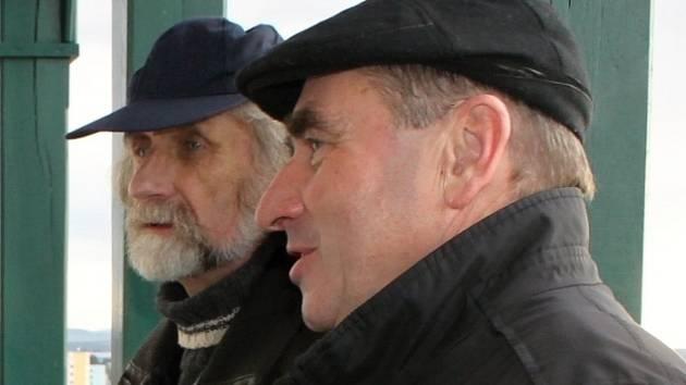 Petr Krupka (vpředu).
