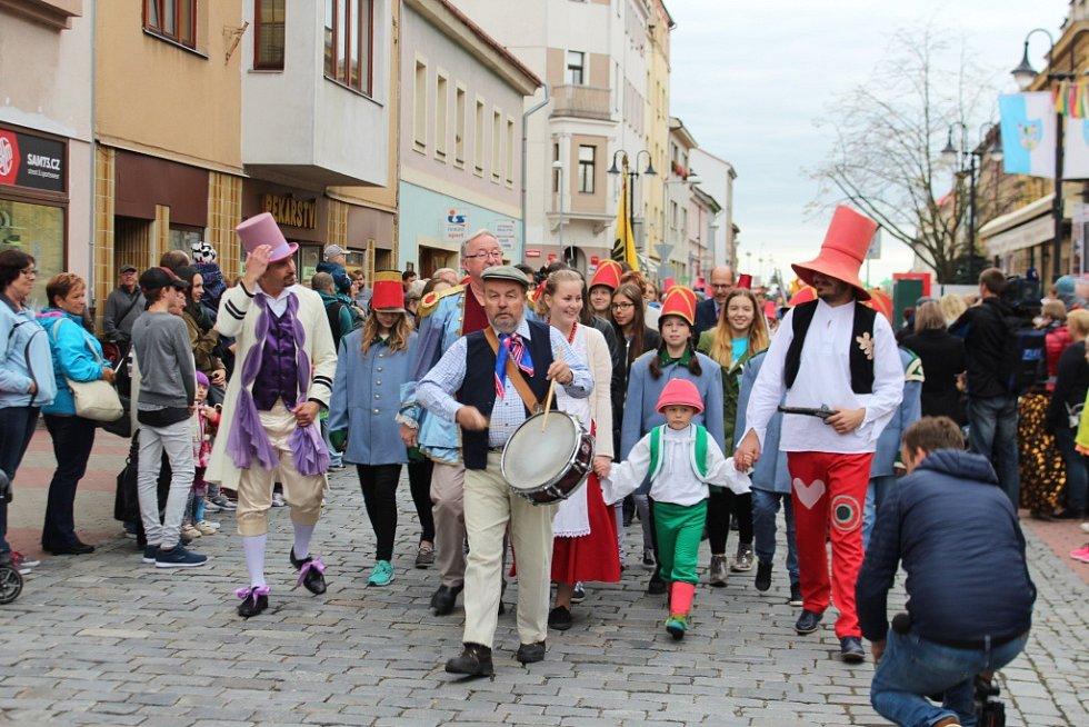 Zahájení pohádkového festivalu v Jičíně
