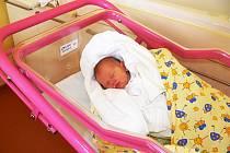 Na rodiče maminku Barboru Gálovou z Hořic mrkla Viktorie poprvé 20. září. Váha ukázala  2,72 kg a metr naměřil 47 cm.