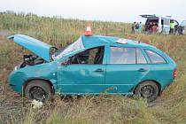 Nehoda fabie u Běchar.