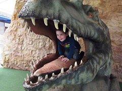 Děti z Ostružna v Dinoparku