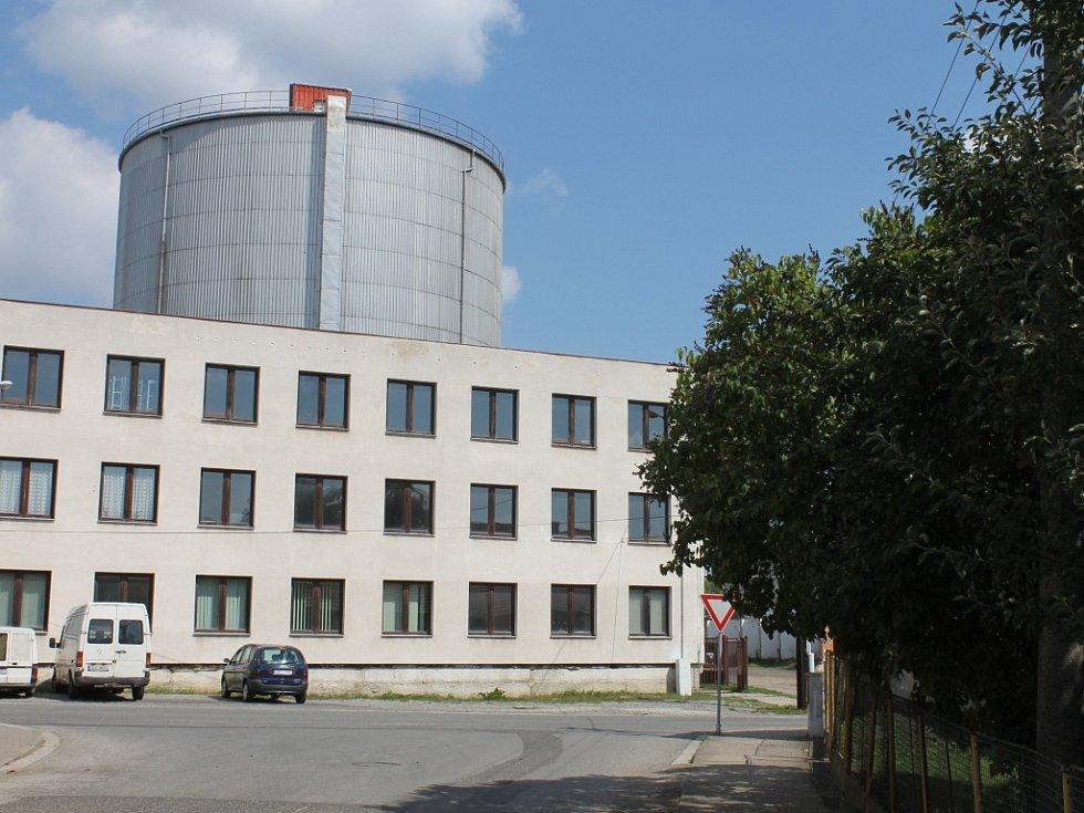 Areál bývalého cukrovaru v Kopidlně.