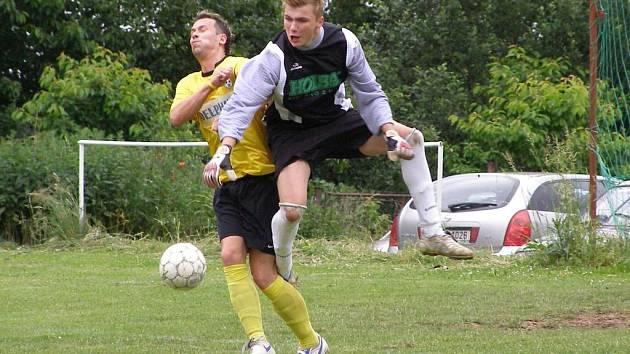 Významný podíl na dobrých výsledcích jedenáctky Starého Místa má i gólman Marek Hlaváč.