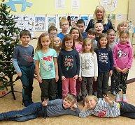 Žáci I. třídy ze ZŠ Cerekvice nad Bystřicí