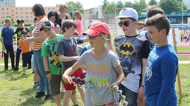 Jičínští házenkáři připravili pro děti bohatý program. Tradiční oslava dětského dne se vydařila.