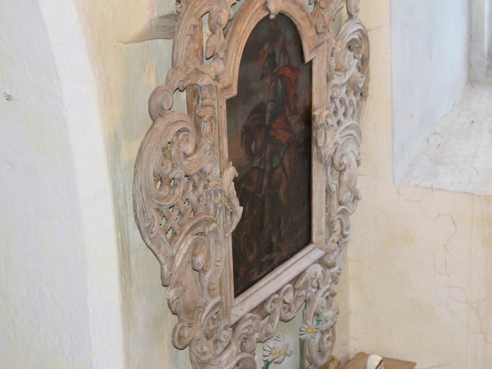 Stavský kostelík během Noci kostelů.