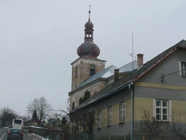 Úlibický kostel.