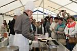 Zahájení bělohradské lázeňské sezony s rekordem v pečení palačinek.