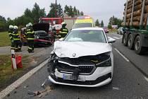 Dopravní nehoda v Nové Pace - Vlkově