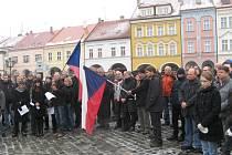 Tryzna za Václava Havla v Jičíně roku 2011.