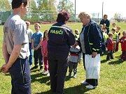 Setkání hasičských přípravek v Holovousích.
