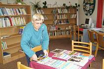 Knihovna v Mladějově.