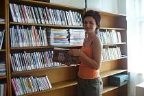 Knihovna v Ostružně.