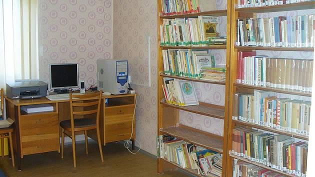 Knihovna ve Sběři.