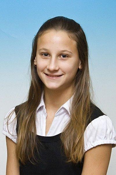 KLÁRA ŠIMÁNOVÁ (Delfín Jičín) Plavkyně, bronzová na mistrovství republiky žactva (200 m motýlek), desátá v českém žebříčku svazu.