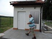 Návštěva v obci Butoves.