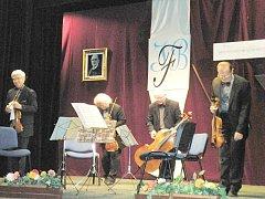 Z koncertu Panochova kvarteta v Libáni.