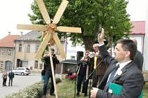 Slavnost v Cerekvici se slovinskými hosty.
