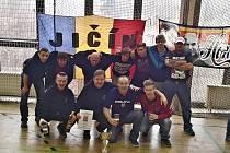 SPARŤANÉ z Jičína na jedenáctém ročníku turnaje fanoušků tohoto klubu.