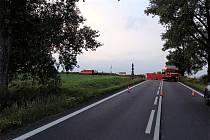 Z dopravní nehoda u Jičíněvse