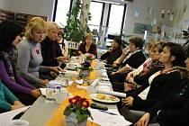 Tisková konference v jičínské knihovně.