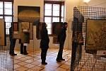 Z výstav na zámku Sloupno u Nového Bydžova.