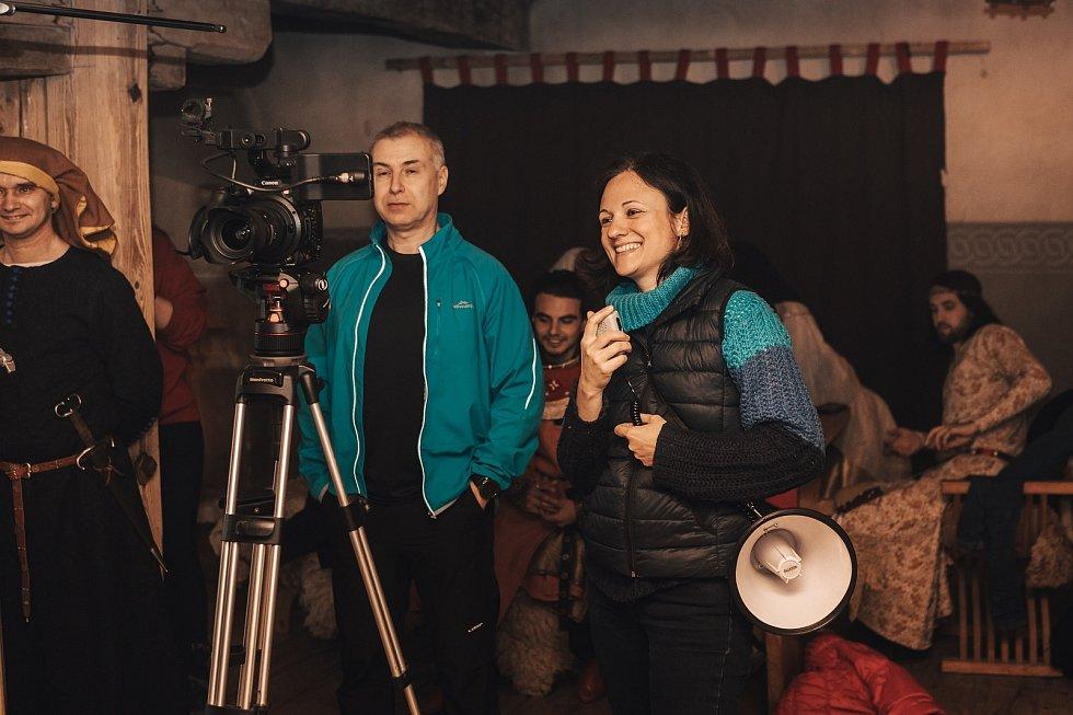 Rozhovor s Lenkou Dajčovou, režisérkou a scénáristkou filmu Richenza, který přibližuje život Elišky Rejčky.
