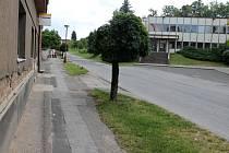 Hořická Erbenova ulice.